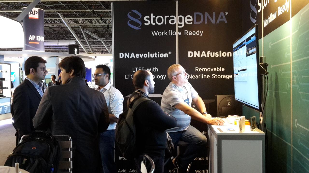 StorageDNA Stand_2_IBC 2016