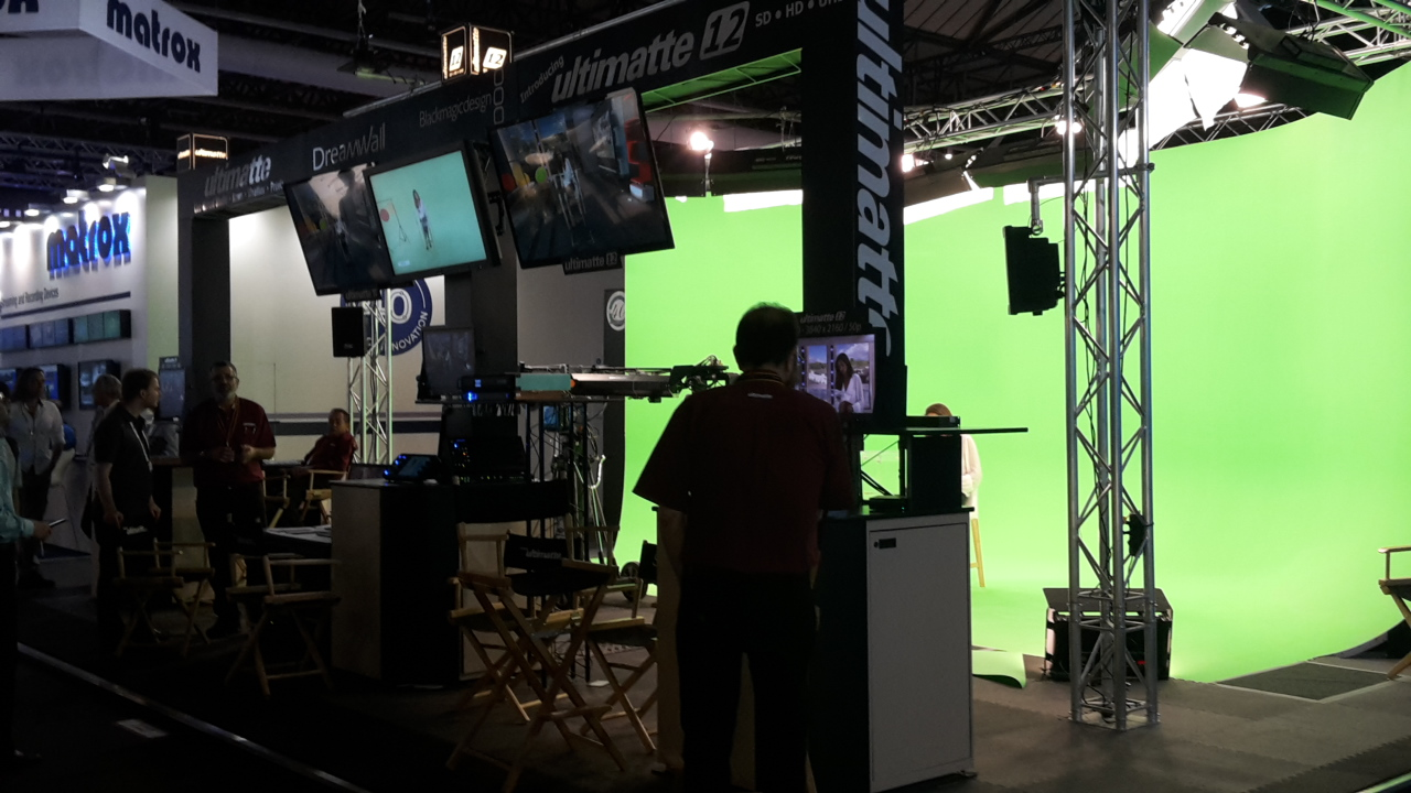 Ultimatte Stand IBC 2016