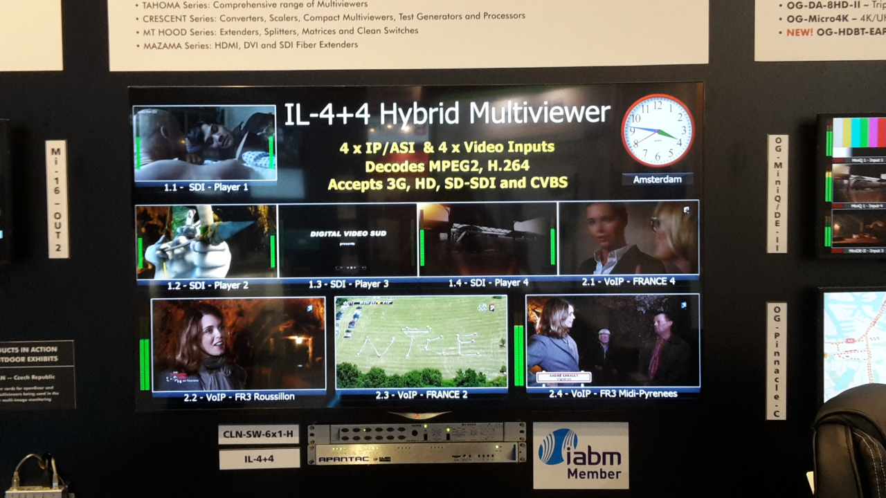 Apantac Multiviewer_IBC 2016