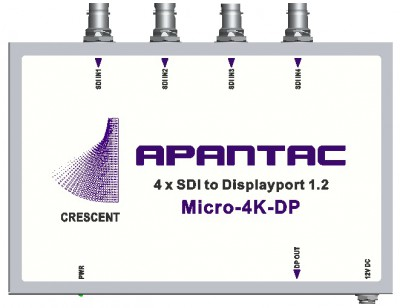 Apantac 4K To Display Port Converter