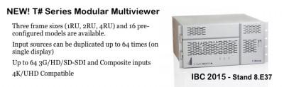 New Modular Multiviewers - Apantac T#