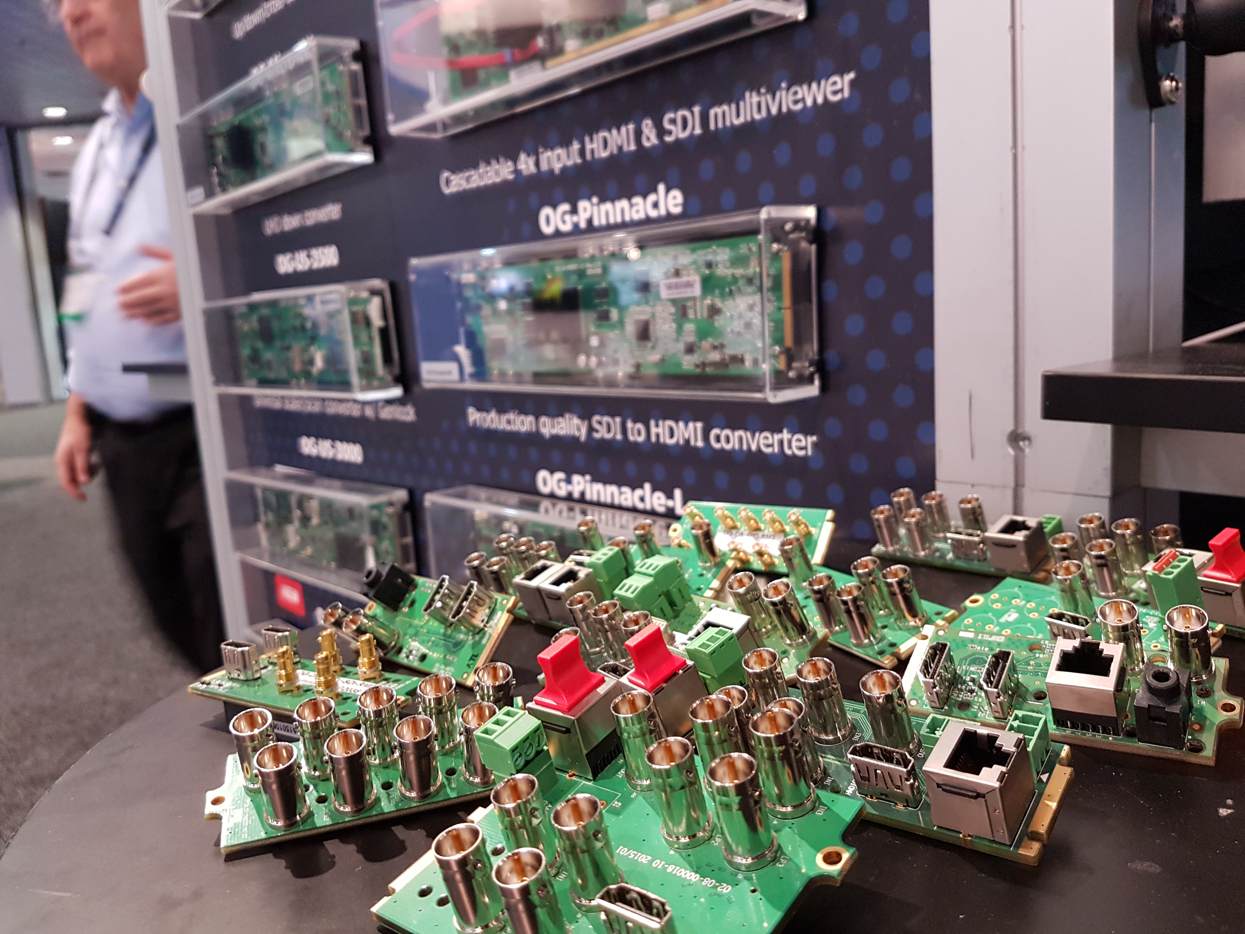 NAB Show 2017_Apantac_Stand Image_Close Up Connections