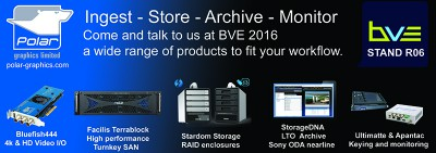 New Products for BVE 2016