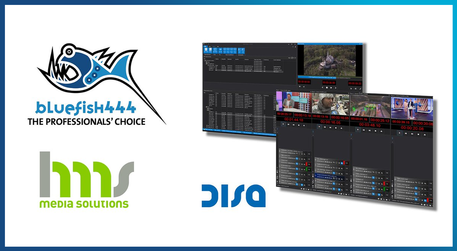 Bluefish444 Announces 4K/HD/SD Support For HMS DISA