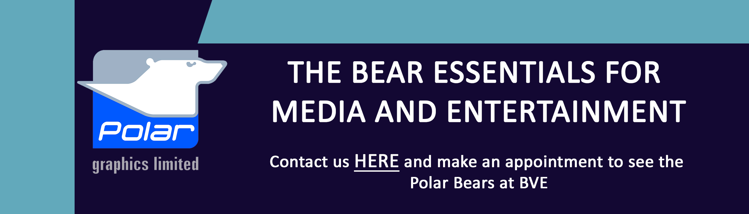 Plan Your Visit for BVE 2017: Meet Polar Graphics