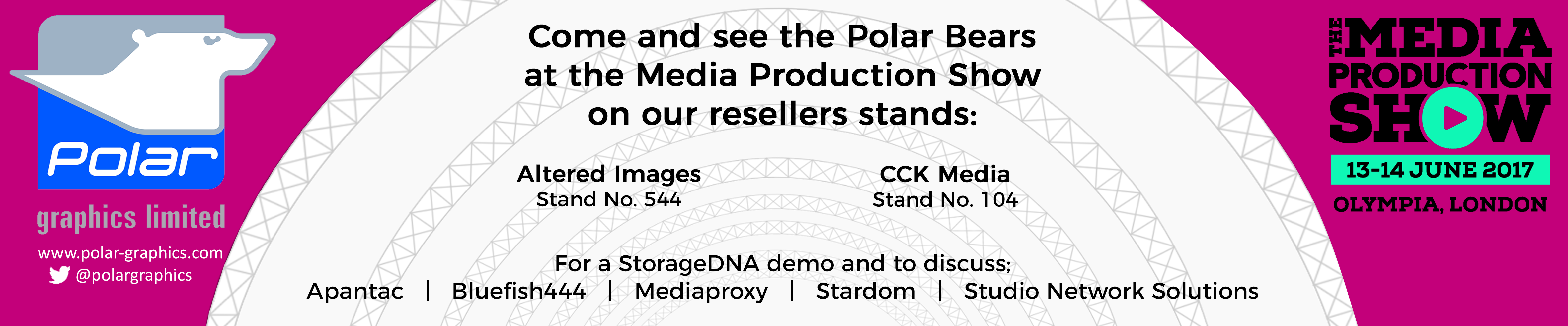 Plan Your Visit For The Media Production Show 2017