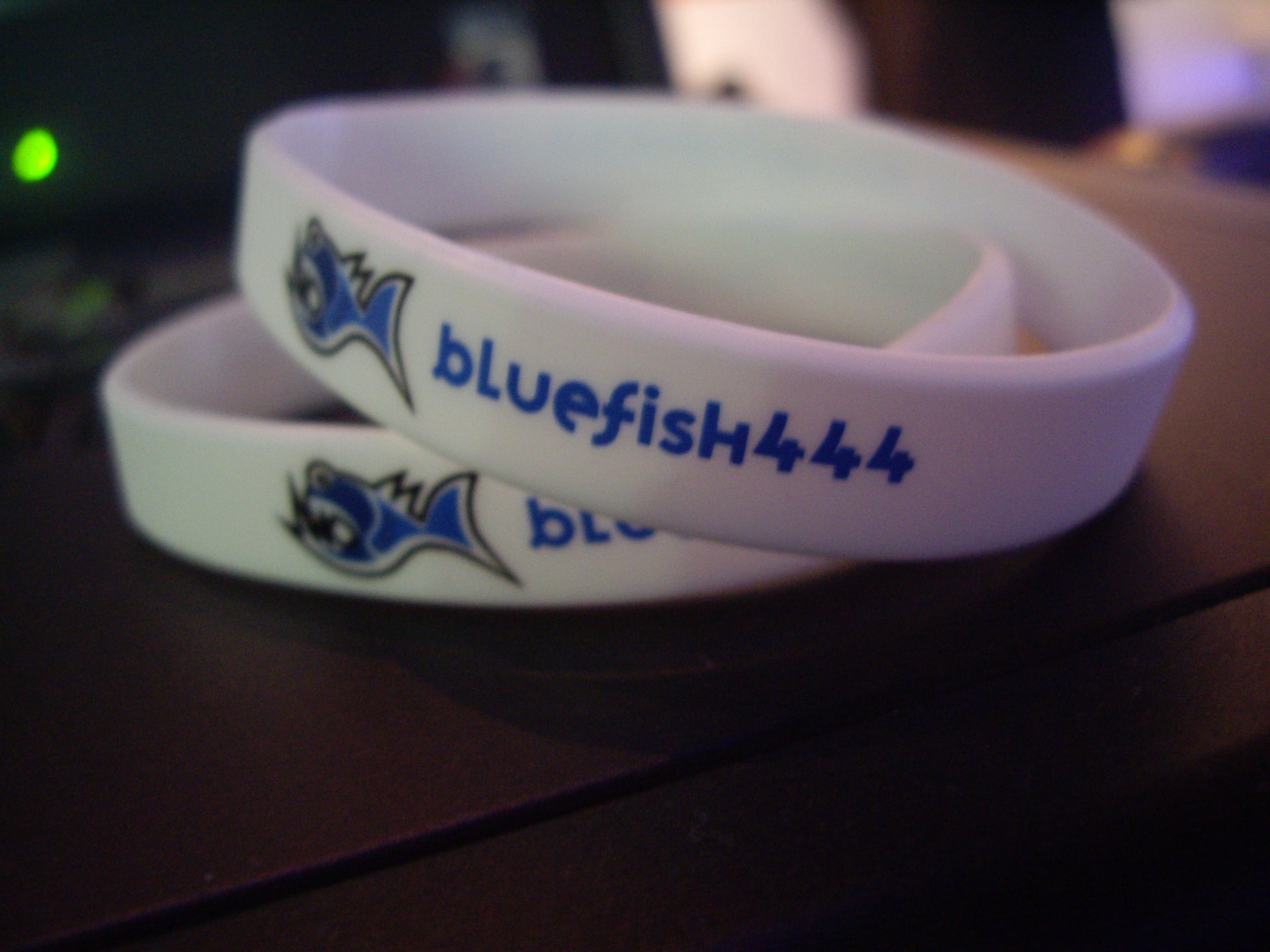 Bluefish444 Wrist Bands