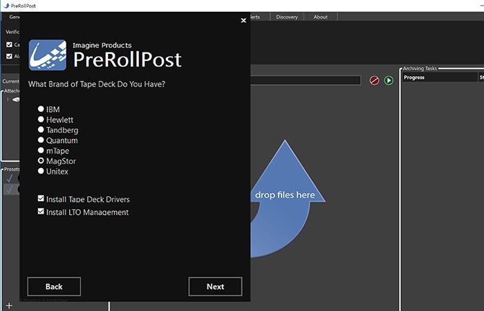 Imagine Products_PreRoll Post (Win)_Format Tapes Screenshot
