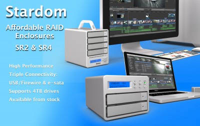 Stardom - low cost raid for editing