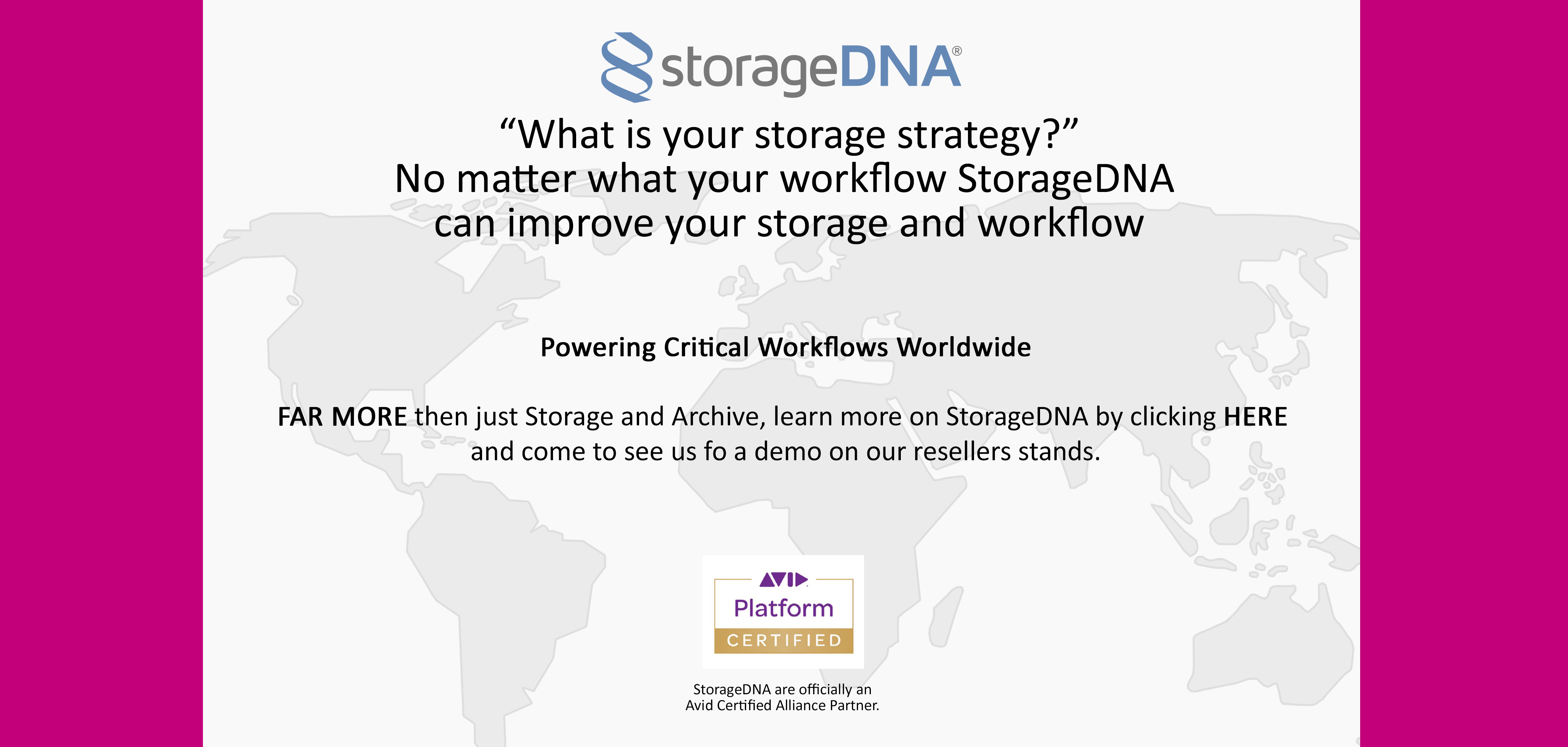 Plan Your Visit To The Media Production Show 2017_StorageDNA_ LTO LTFS Archive Solutions