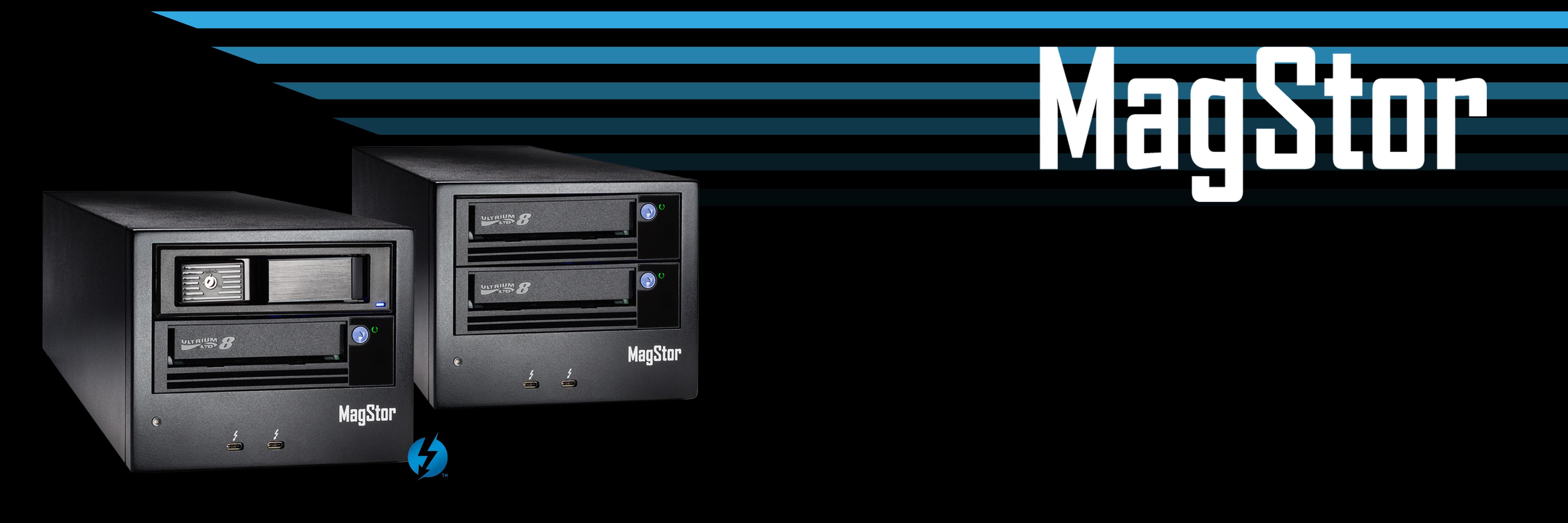 MagStor_Thunderbolt 3_LTO6 / LTO7 & LTO8 Tape Drive