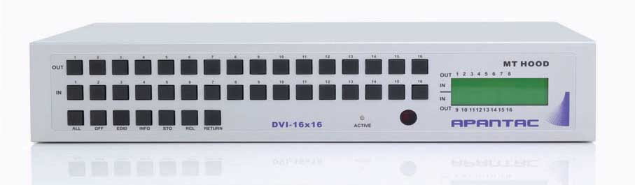 Apantac   | DVI-16x16 Matrix Switch