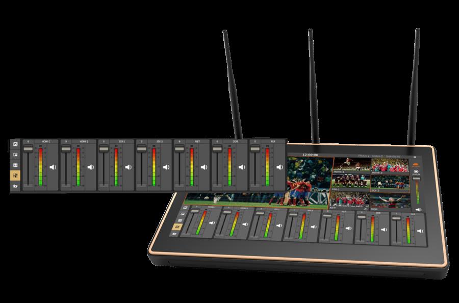 Nagasoft_NSCaster_Audio Mixer