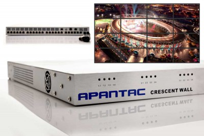 New Apantac Cost Effective Video Wall