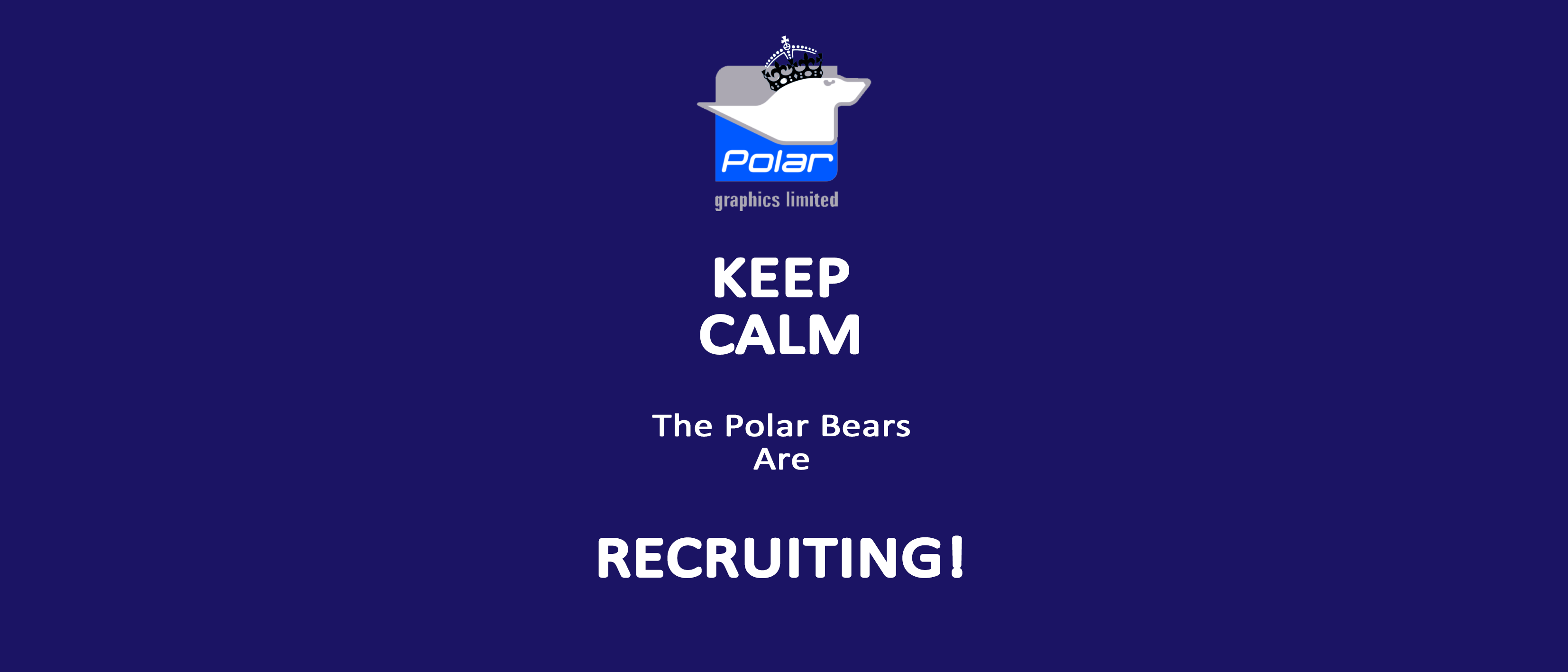 Polar Keep Calm_Polar Are Recruiting