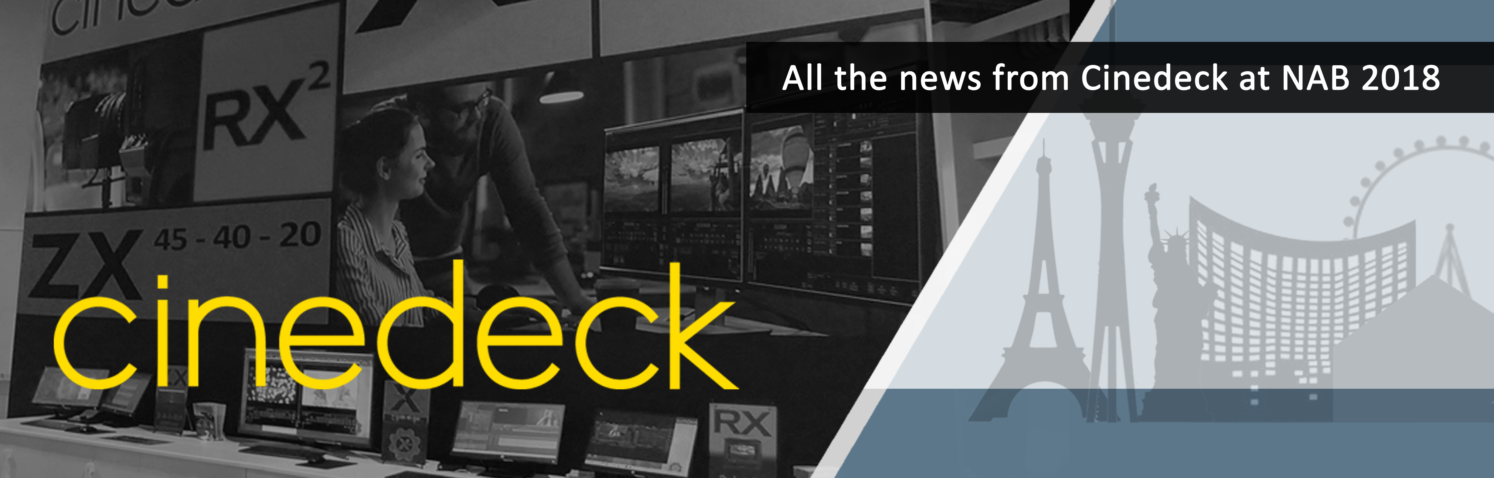 Post NAB 2018 News From Cinedeck_Header