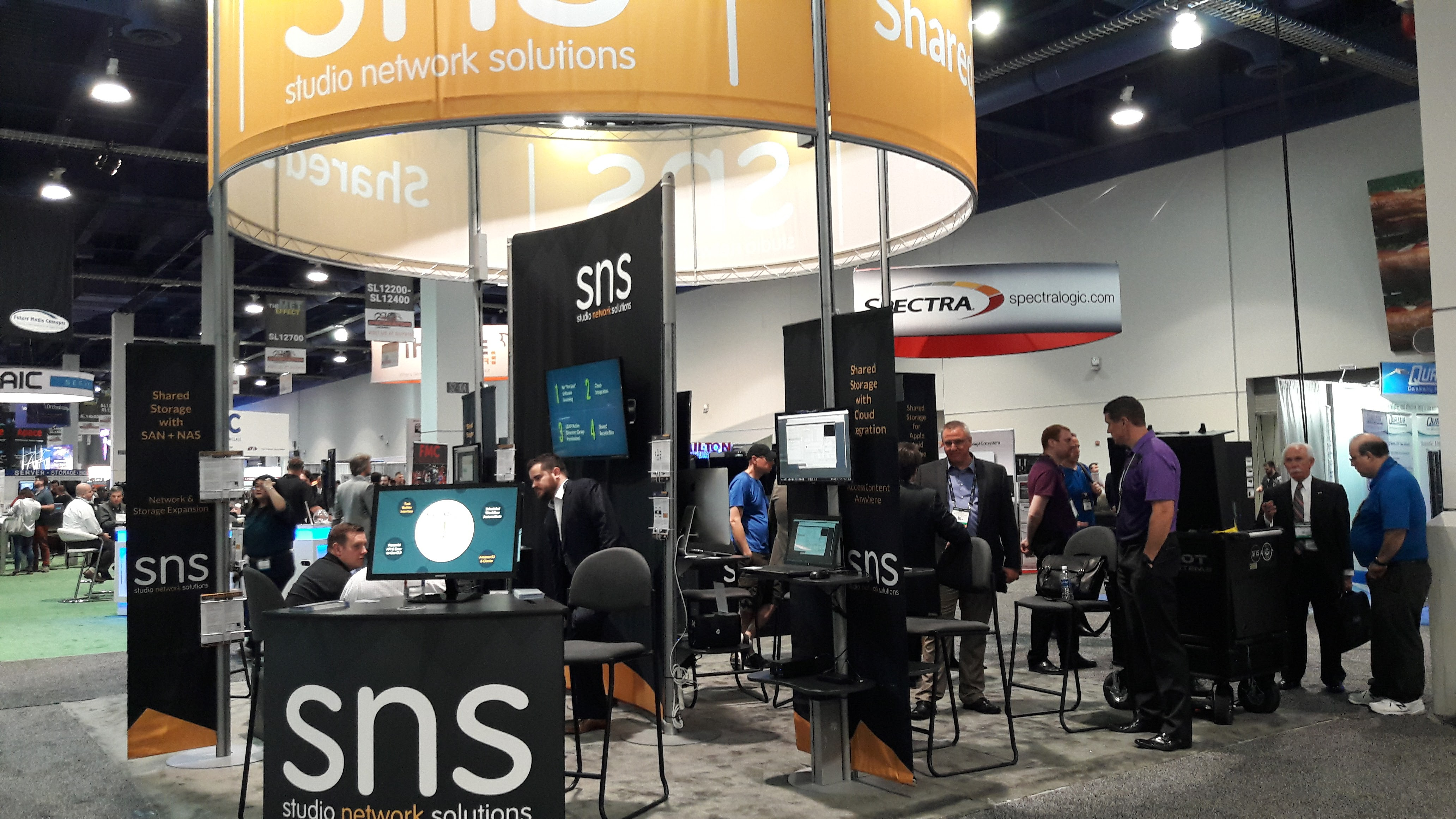 Studio Network Solutions_NAB 2017_Stand Image 1