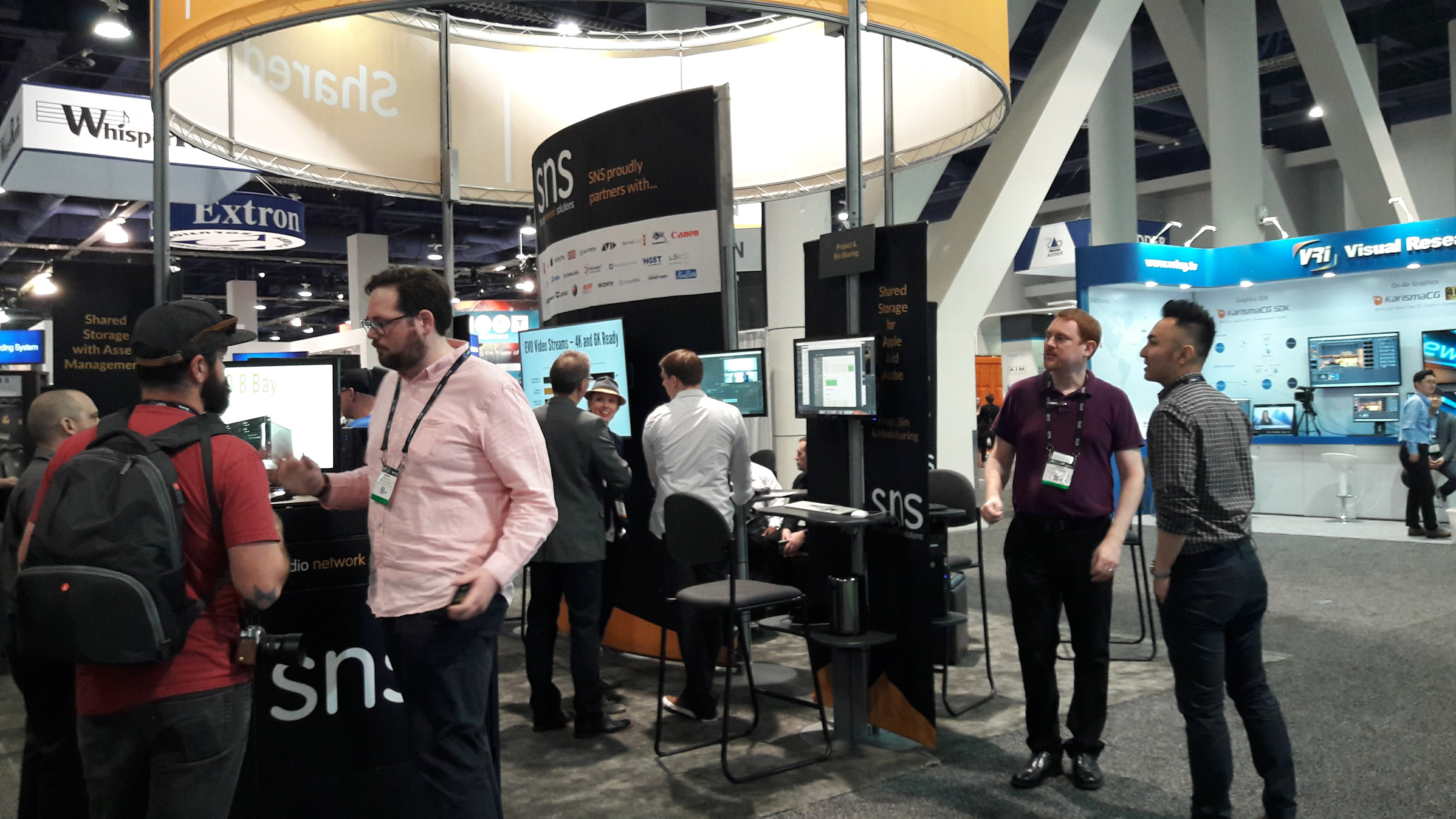 Studio Network Solutions_NAB 2017_Stand Image 2