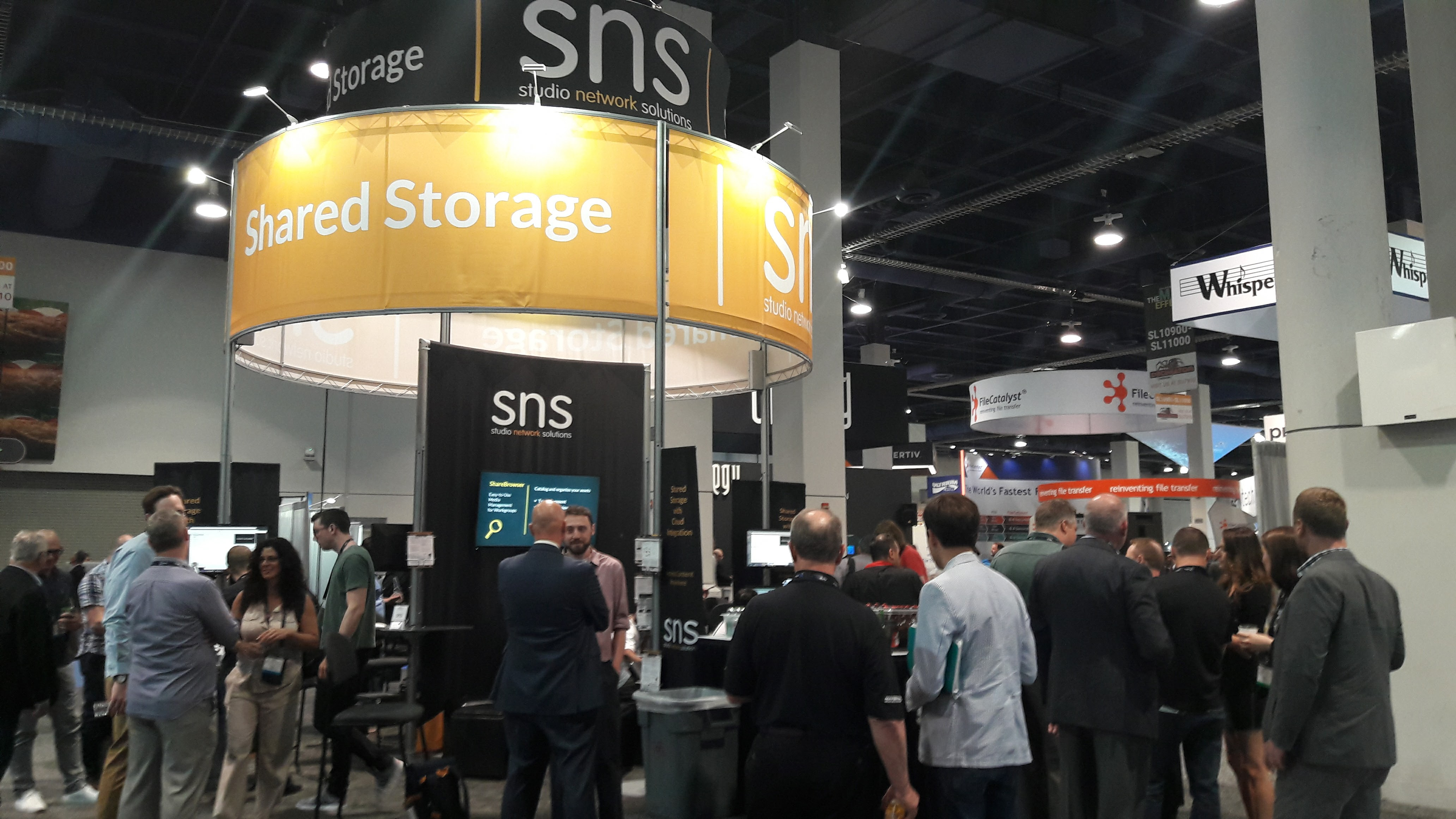 Studio Network Solutions_NAB 2017_Stand Image 3