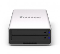 Lightweight Small Portable RAID – Stardom MR2