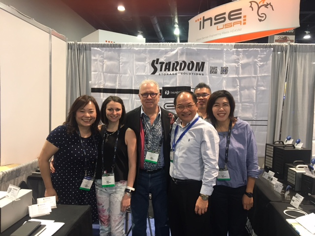 NAB Show 2017_Stardom_Team Photo