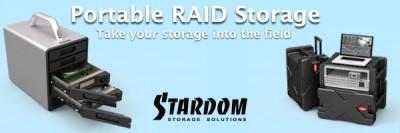 Portable RAID Storage