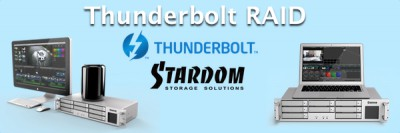Thunderbolt RAID for Broadcast Applications - Stardom DR8-TB