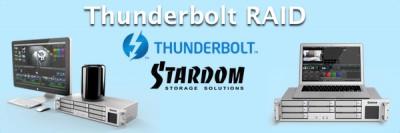 Thunderbolt RAID for Broadcast Applications - Stardom DR8-TB